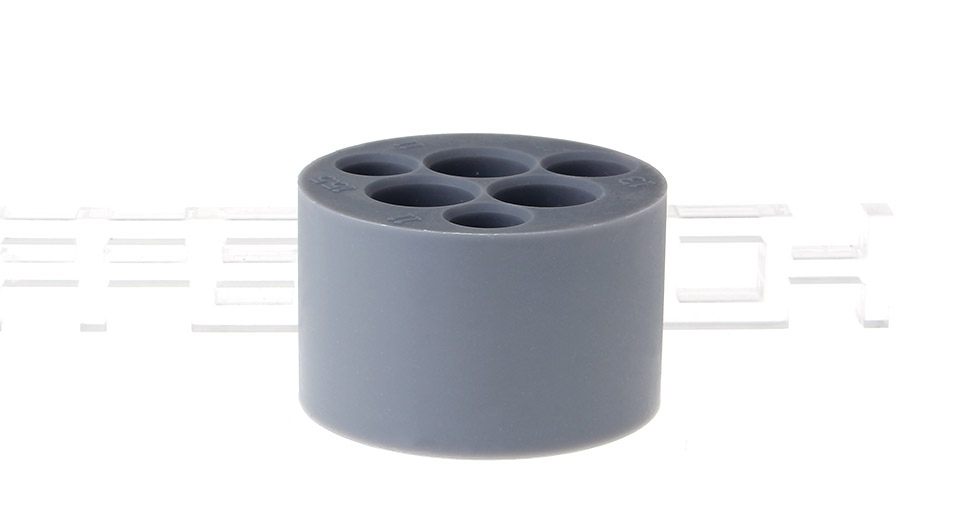 Double-Faced 6-Hole + 4-Hole Silicone Stand Holder for E-Cigrettes