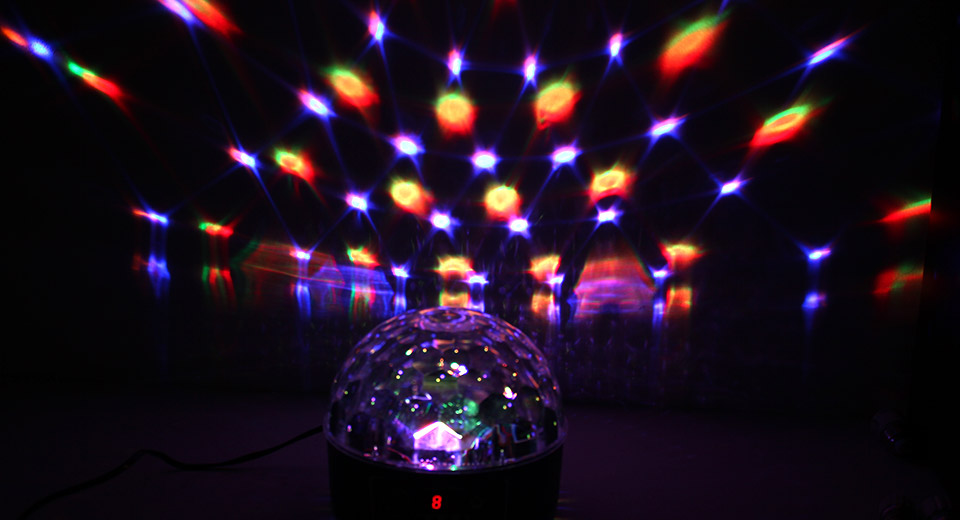 TD-GS-MQ08 RGBYWP 6*3W 6-Color Magic Ball Disco DJ Stage Light