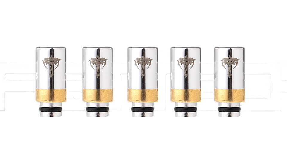 Product Image: nemesis-stainless-steel-510-drip-tip-5-pack