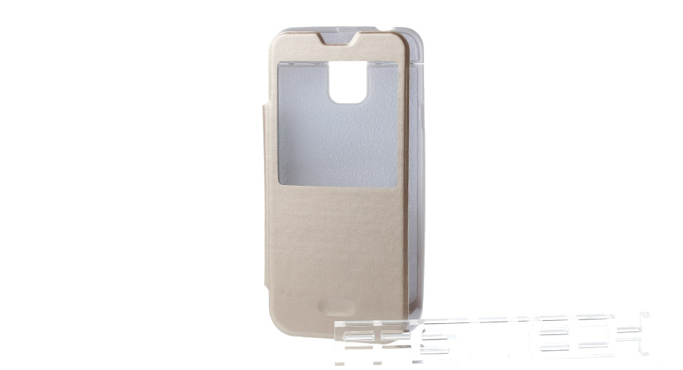 timeless design de3ec 090f7 3800mAh Power Bank Smart Flip-Open Case for Samsung Galaxy S5 i9600