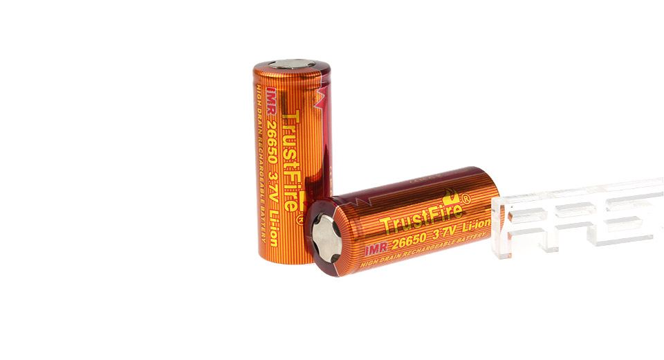 Product Image: trustfire-imr-26650-3-7v-3400mah-rechargeable-li