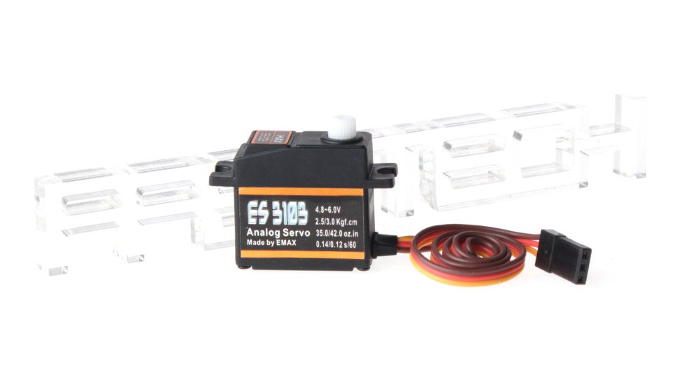 Product Image: emax-es3103-analog-torque-servo-for-r-c-helicopter