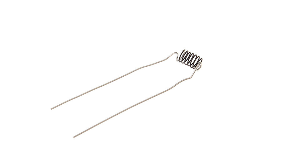Pre-Coiled Welded Wires - NR-R-NR (50-Pack) 33 AWG / 1.