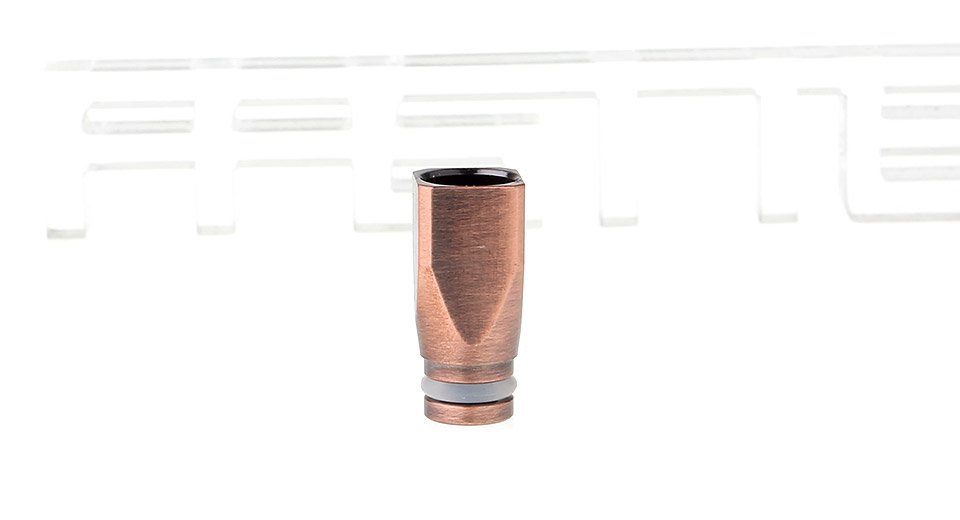 Square Shaped Copper 510 Drip Tip