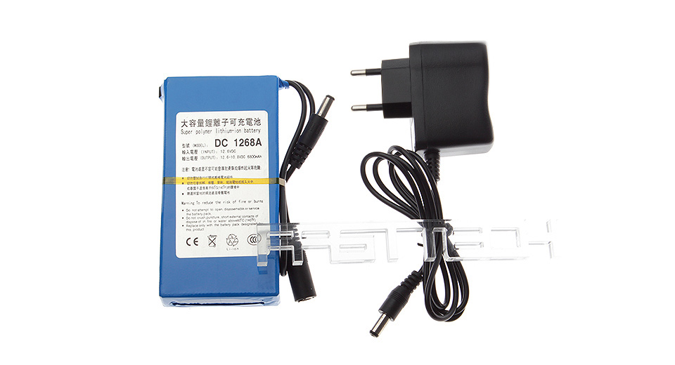 Product Image: dc-12680a-12-6v-6800mah-rechargeable-li-ion