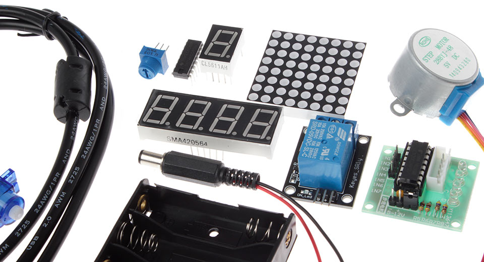 Keyes new starter kit for arduino fans works w