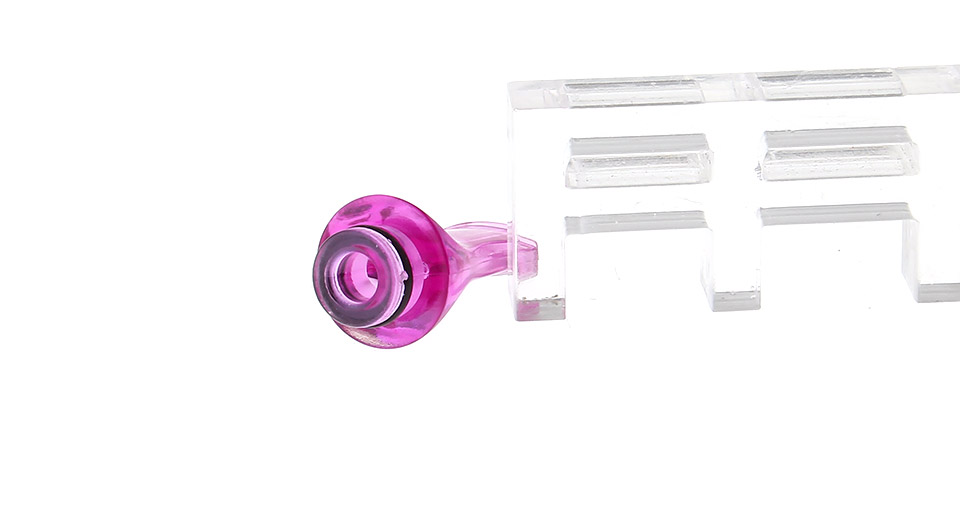 Acrylic Flat Mouth 510 Drip Tip (50-Pack)