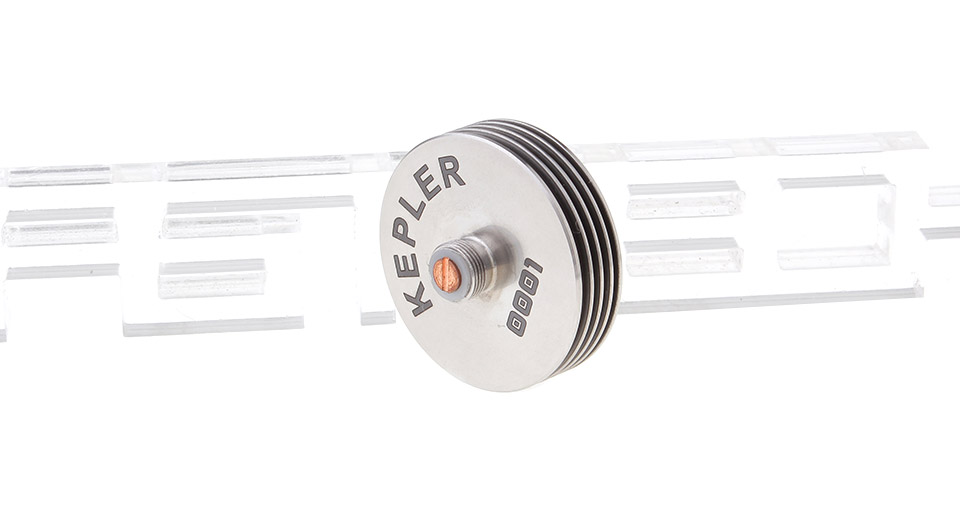 Kepler 510 Finned Heat Sink for Atomizers stainless ste