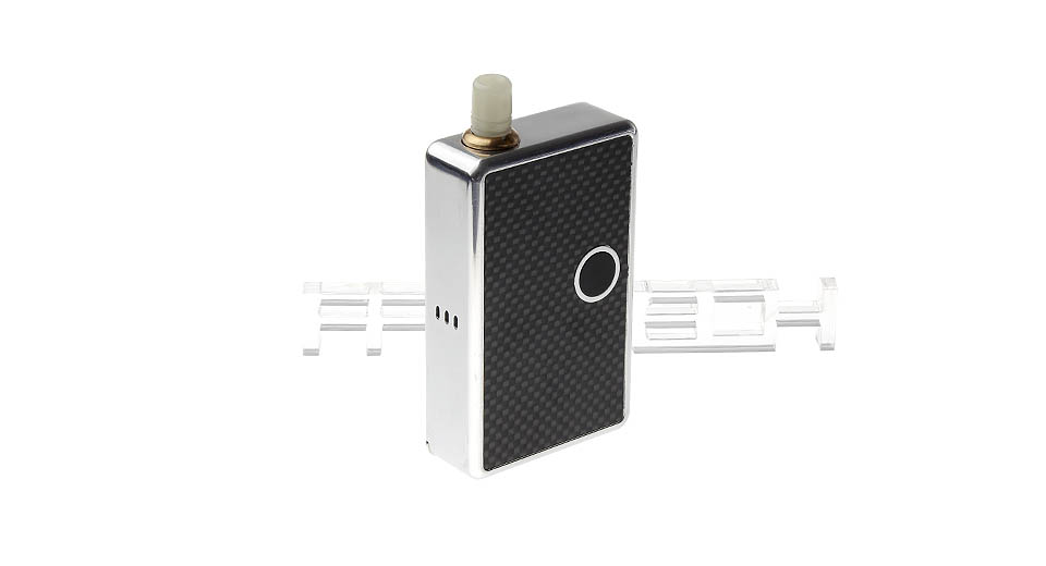 $53.07 Billet Box Style Variable Voltage APV Vaping Unit (4.5-6.5ml) - 0.4-3.2ohm / 2*16340 / silver at FastTech - Free Shipping