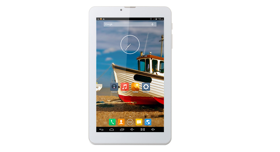 $79.39 ICOO Q7 7 inch Quad-Core 1.3GHz Android 4.4.2 KitKat 3G ...