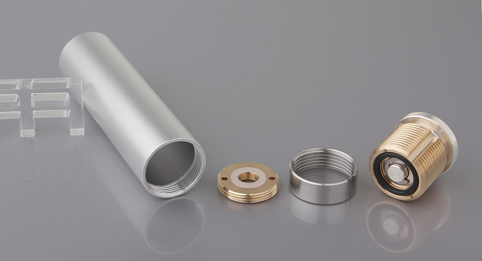 Hemlock style mechanical mod aluminum alloy