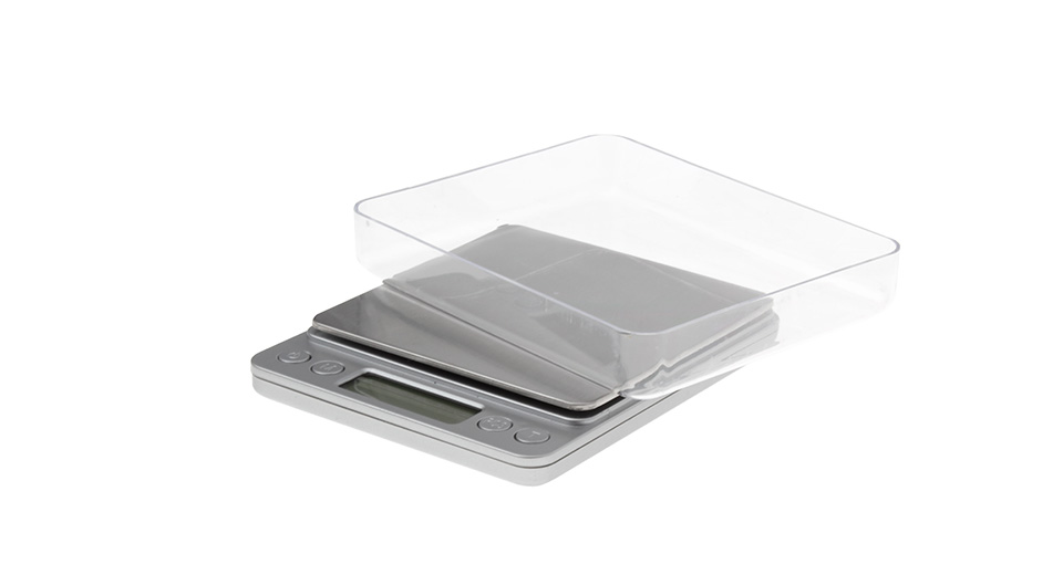 I-2000 300g x 0.01g Digital Scale w/ Weighing Tray 2*AA