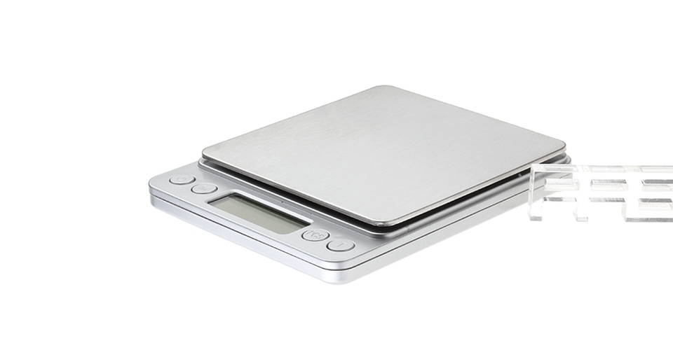 I-2000 3000g x 0.1g Digital Scale w/ Weighing Tray 2*AA