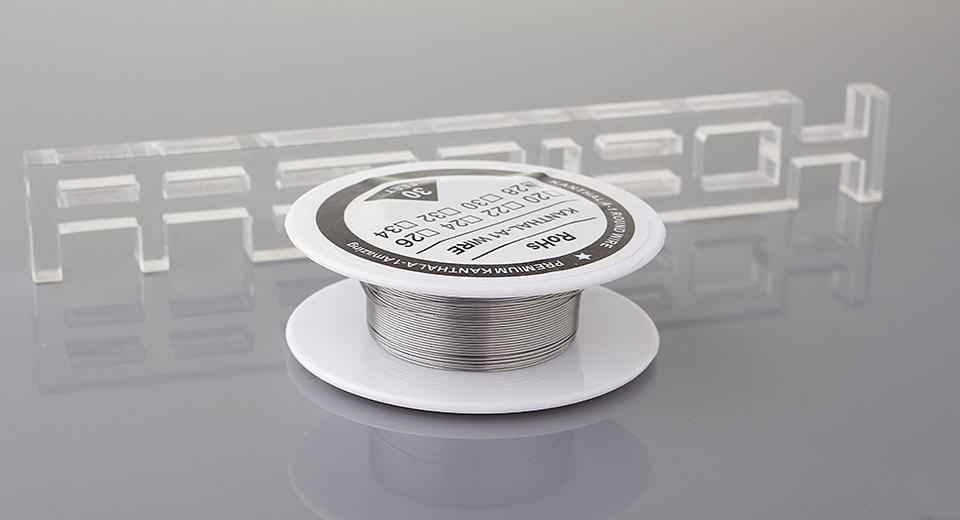 $2.18 Authentic Kanthal A1 Resistance Wire for Rebuildable Atomizers ...
