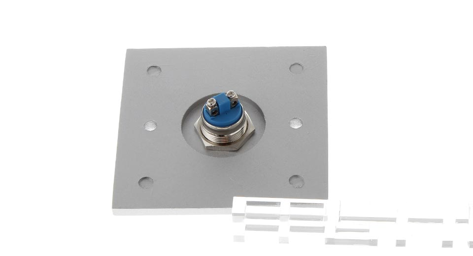 Aluminum Alloy Wall Mount Door Release Button Switch (Large)