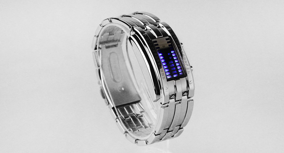 Skmei 0953 Blue LED Digital Wrist Watch for Couples