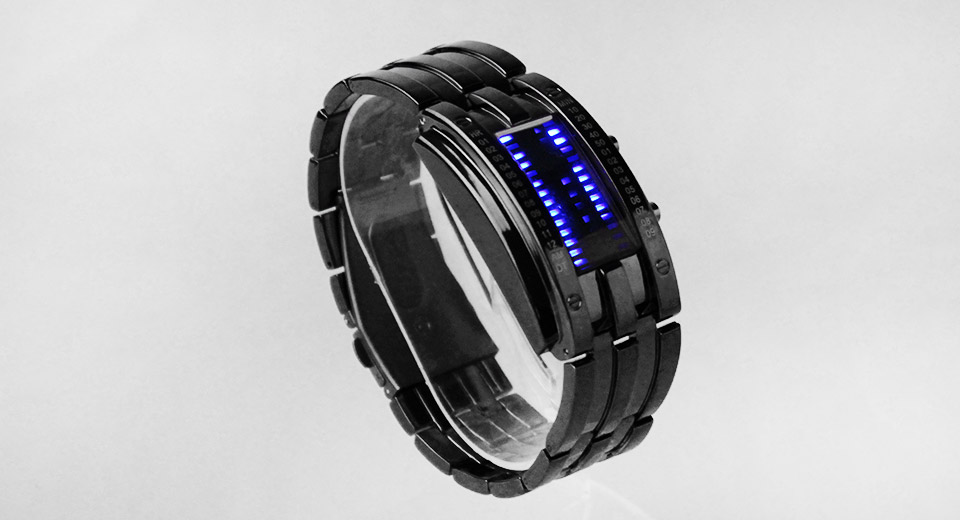 Skmei 0926 Blue LED Digital Wrist Watch for Couples