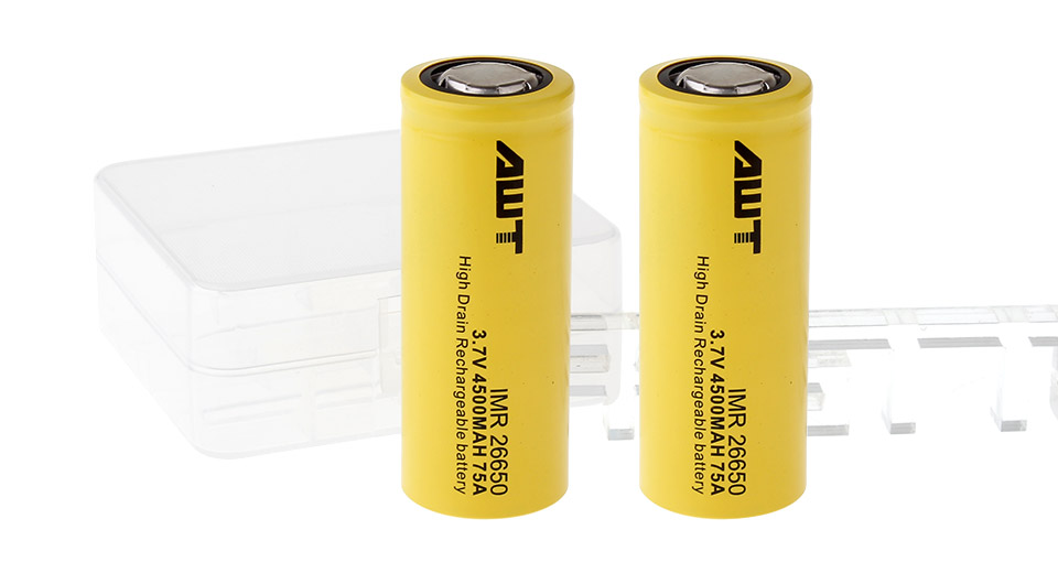 Product Image: authentic-aweite-awt-imr-26650-3-7v-4500mah