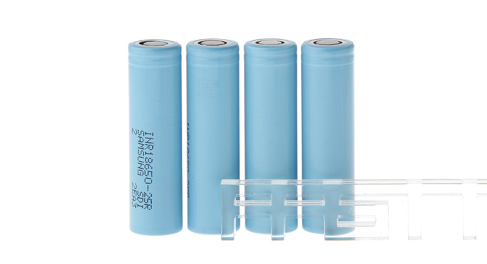 Product Image: inr-18650-25r-3-6v-2500mah-li-ion-batteries-4-pack