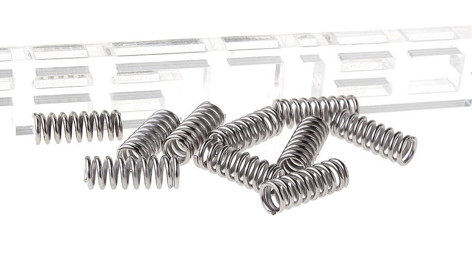 Powerful Compression Spring for 3D Printer (10-Pack)