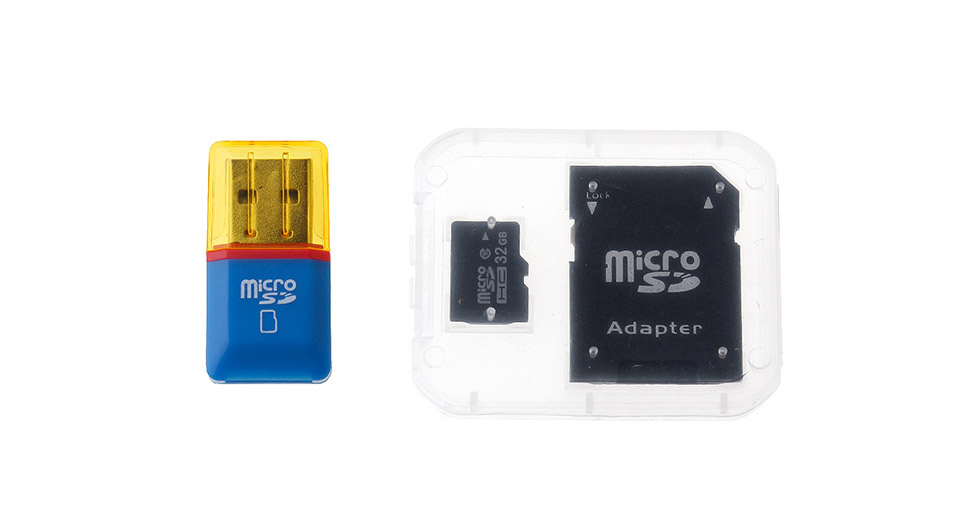 Product Image: 32gb-microsdhc-memory-card-w-sd-card-adapter-card