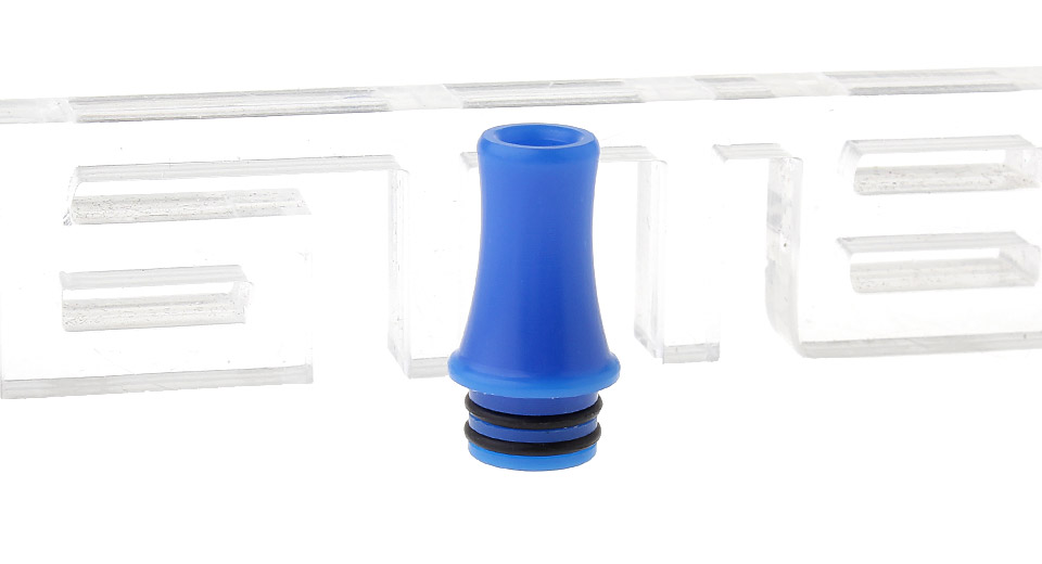 $1.05 POM 510 Drip Tip - blue / 21.5mm at FastTech - Free Shipping