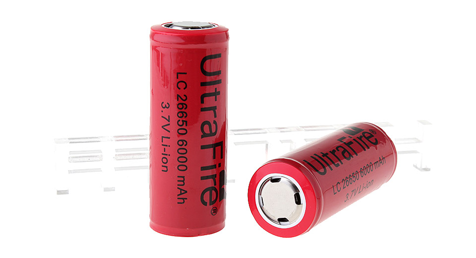 Product Image: ultrafire-lc-26650-3-7v-6000mah-rechargeable-li