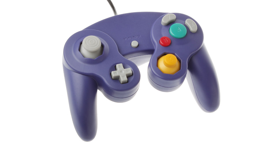 Wired Non-Shock Game Controller for Nintendo GameCube NGC