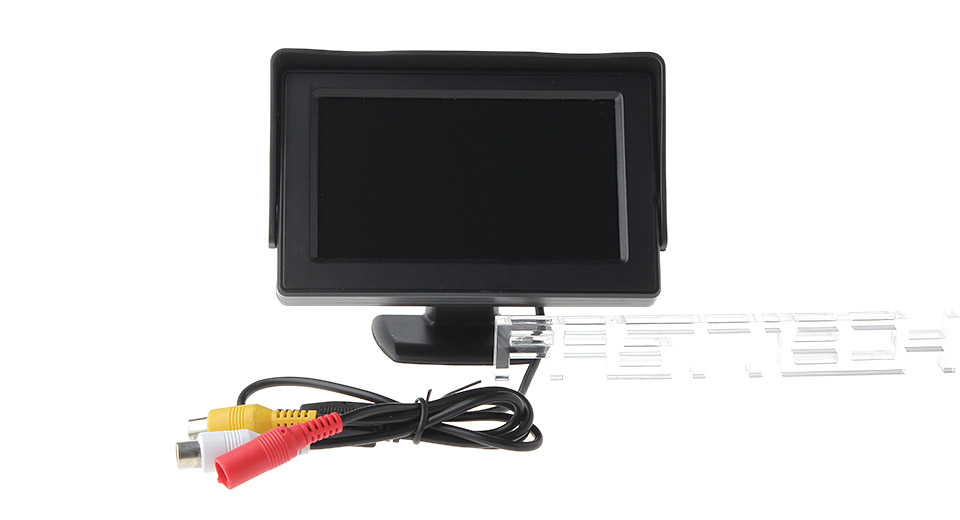 Product Image: 4-3-tft-lcd-car-rearview-monitor-strawhat-shaped