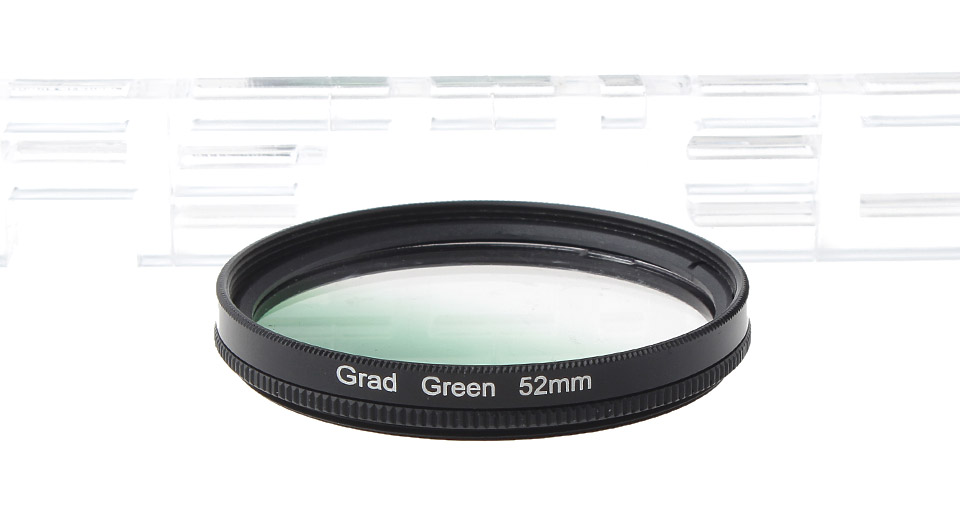 Product Image: gp357-52mm-graduated-green-lens-filter-set-for