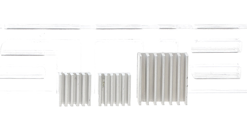 Product Image: aluminum-heatsinks-for-raspberry-pi-3-pieces
