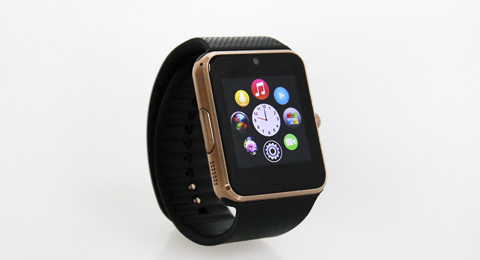 GT08 1.54'' Touch Screen Bluetooth V3.0 GSM Smart Watch Phone