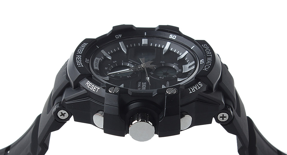 Skmei 0990 Multifunctional Men's Sports Waterproof Quartz Wrist Watch