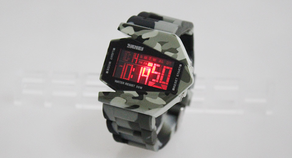 Skmei 0817 Unisex Sports Waterproof Multi-color Backlight LED Digital Wrist Watch