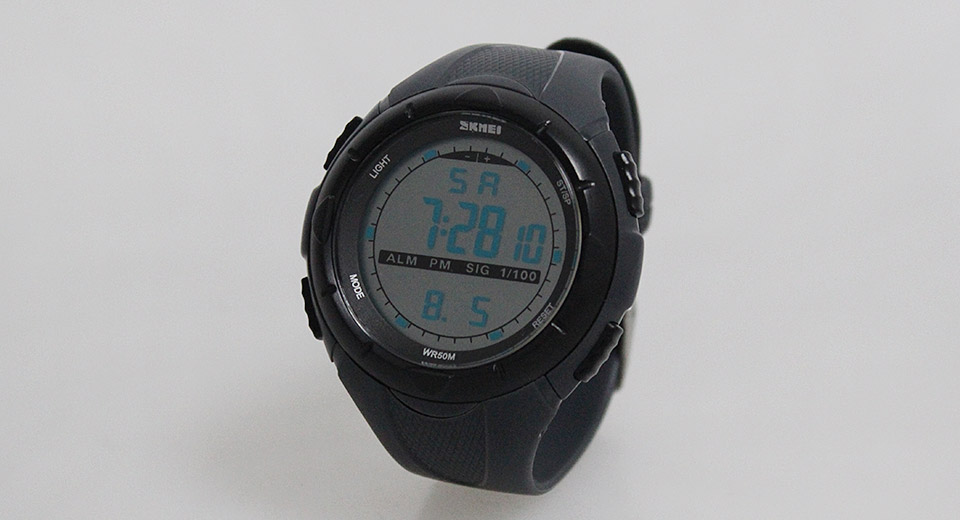 Skmei 1025 Unisex Sports Waterproof LED Digital Wrist Watch