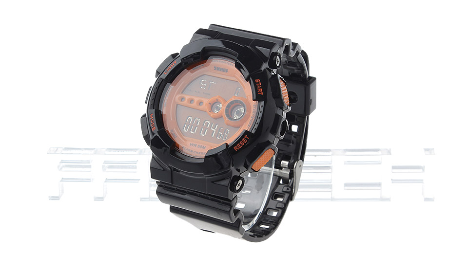 Skmei 1026 Unisex Sports Waterproof LED Digital Wrist Watch