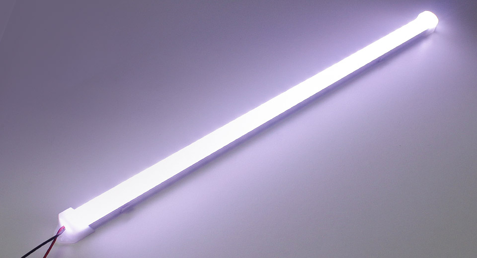 18W 72*2835 1500LM 6000-6500K Pure White LED Light Tube