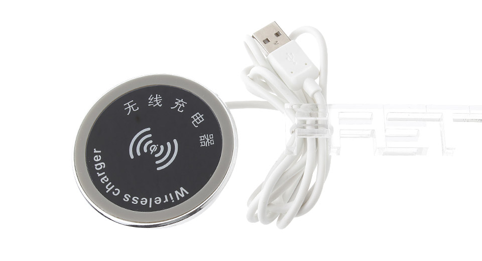 USB Powered Qi Inductive Wireless Desktop Charger