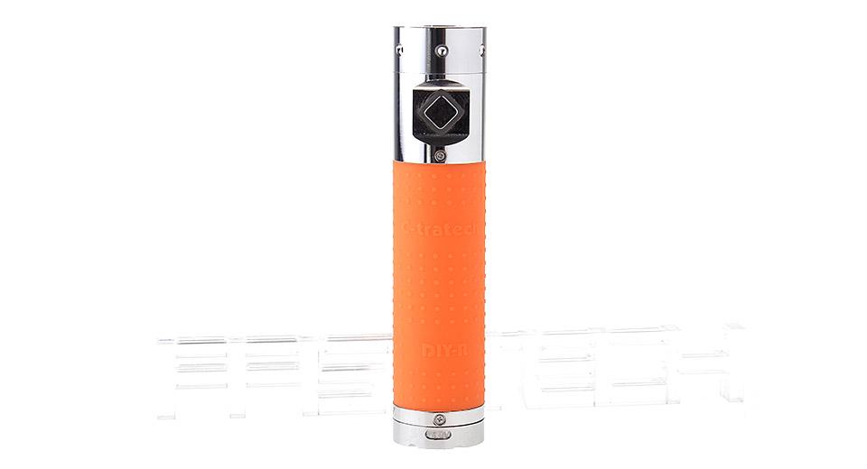 $14.16 Click 003 1500mAh VV Variable Voltage E-Cigarette Battery - 3.2-4.8V / orange at FastTech - Great Gadgets, Great Prices