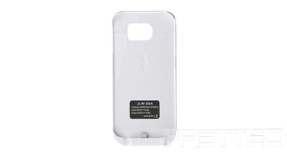 Product Image: 3500mah-rechargeable-external-battery-back-case