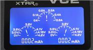 Authentic XTAR VC2 2 Slots Li-ion USB Battery Charger w/ LCD Display