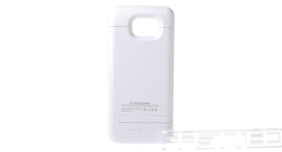 """4200mAh"" Rechargeable External Battery Case for Samsung Galaxy S6/S6 Edge"