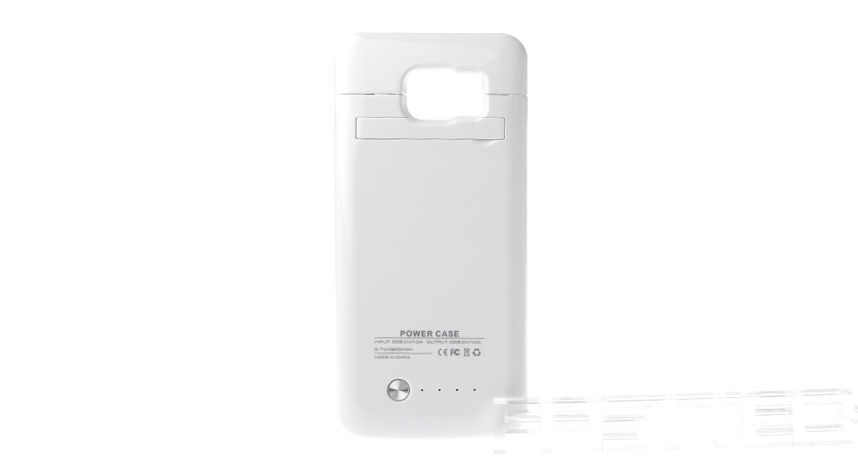 """4200mAh"" Rechargeable External Battery Case for Samsung Galaxy S6"