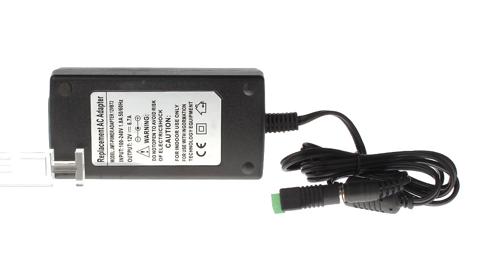 Product Image: 12v-6-7a-80w-replacement-power-supply-ac-adapter