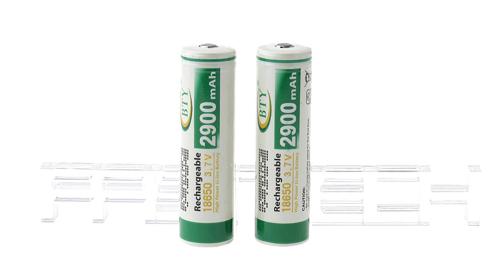 Product Image: authentic-bty-18650-3-7v-2900mah-rechargeable-li