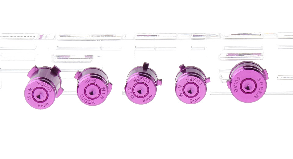 $2 43 Replacement Aluminum Bullet Button Set for Xbox One Controller -  purple at FastTech - Worldwide Free Shipping