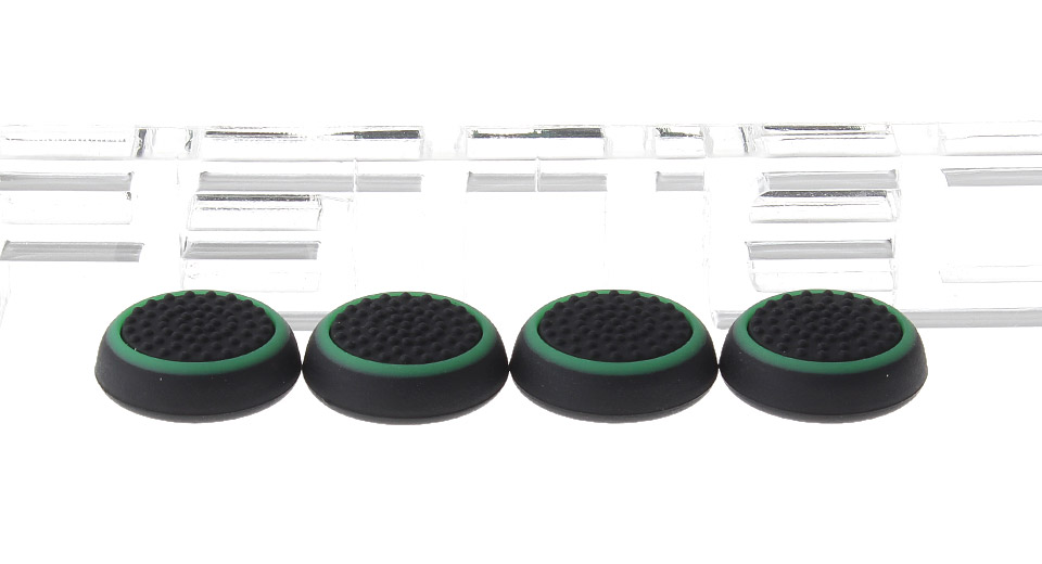 SY-001 TPU Anti-slip Joystick Caps for PS4 / PS3 / PS2 / Xbox One / Xbox 360 Controller (4-Piece)