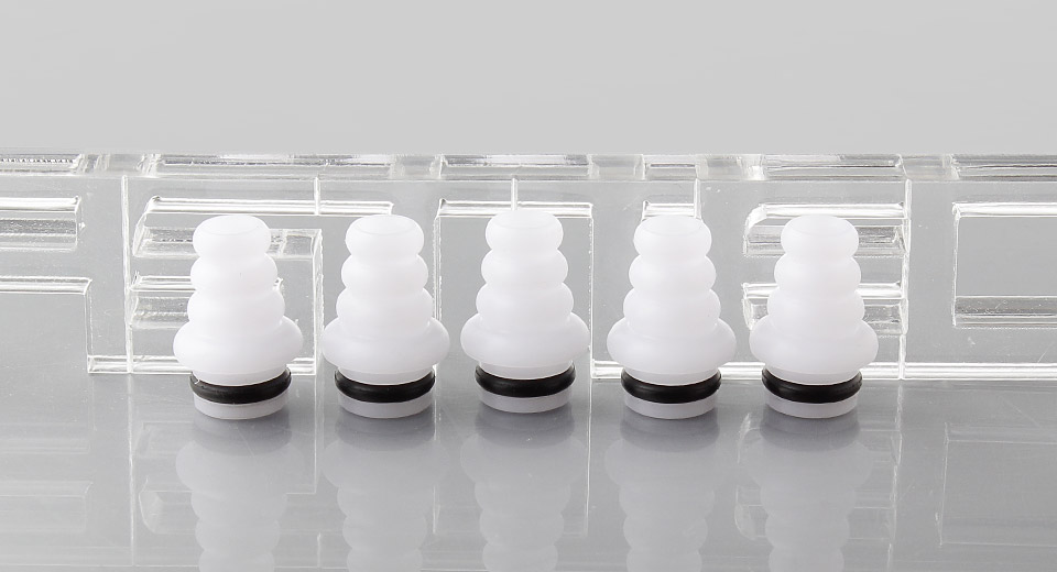 Product Image: spiral-shell-pom-510-drip-tip-5-pack