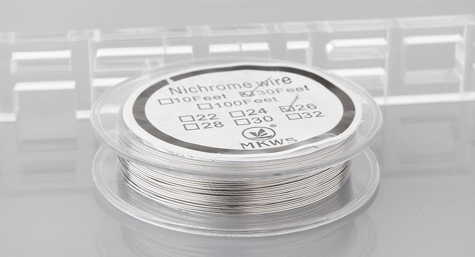 $2.43 Authentic MKWS Heating Wire for Rebuildable Atomizers - 26 AWG ...