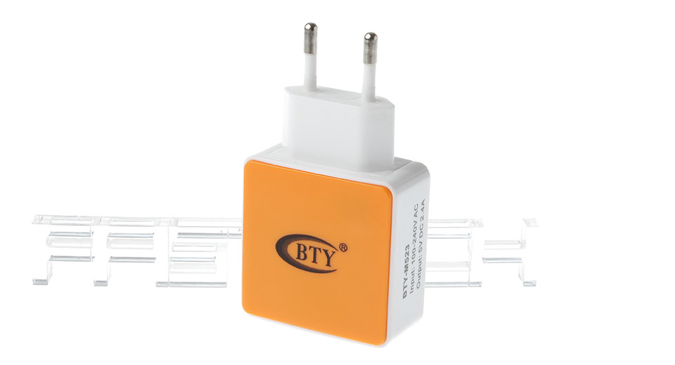 Product Image: bty-m523-dual-usb-2-0-charger-power-adapter